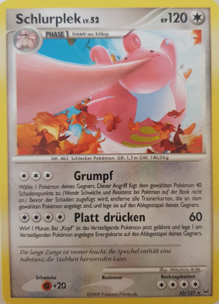 Lickilicky German - 33/127 - Rare