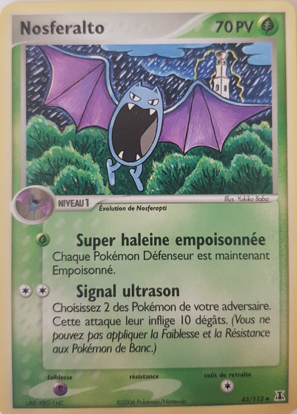 Golbat French - 43/113 - Uncommon