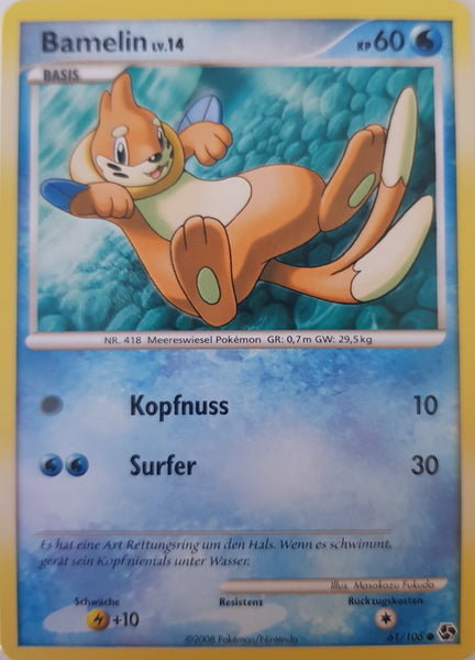 Buizel German - 61/106 - Common