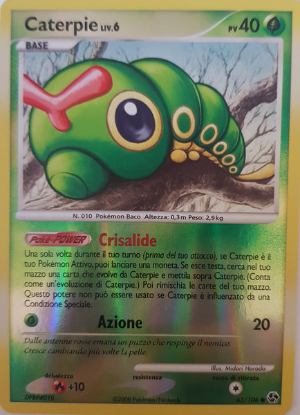 Caterpie Italian - 63/106 - Common Reverse Holo