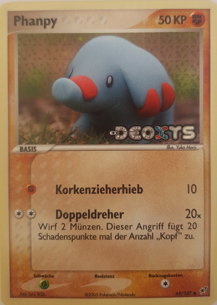 Phanpy German - 69/107 - Common Reverse Holo