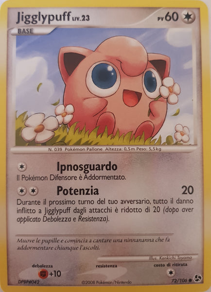 Jigglypuff Italian - 72/106 - Common