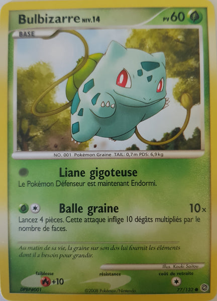 Bulbasaur French - 77/132 - Common