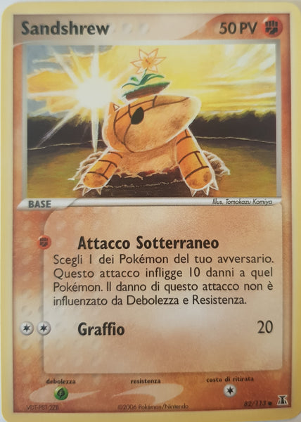 Sandshrew Italian - 82/113 - Common
