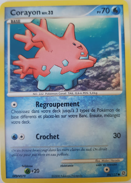 Corsola French - 84/132 - Common