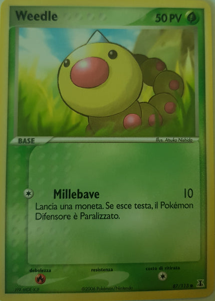Weedle Italian - 87/113 - Common