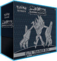Burning Shadows Elite Trainer Box - Sealed