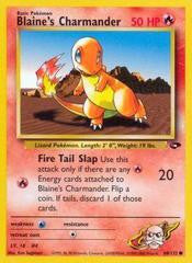 Blaine's Charmander - 60/132 - Common
