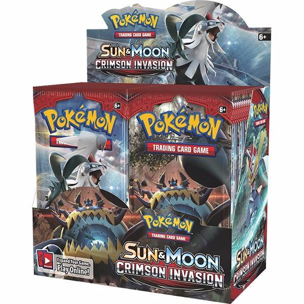 Crimson Invasion Booster Box - Sealed - 36 Boosters