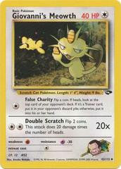 Giovanni's Meowth - 43/132 - Uncommon