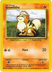 Growlithe - 28/102 - Uncommon