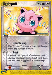 Jigglypuff  - 41/95 - Common Reverse Holo - Played