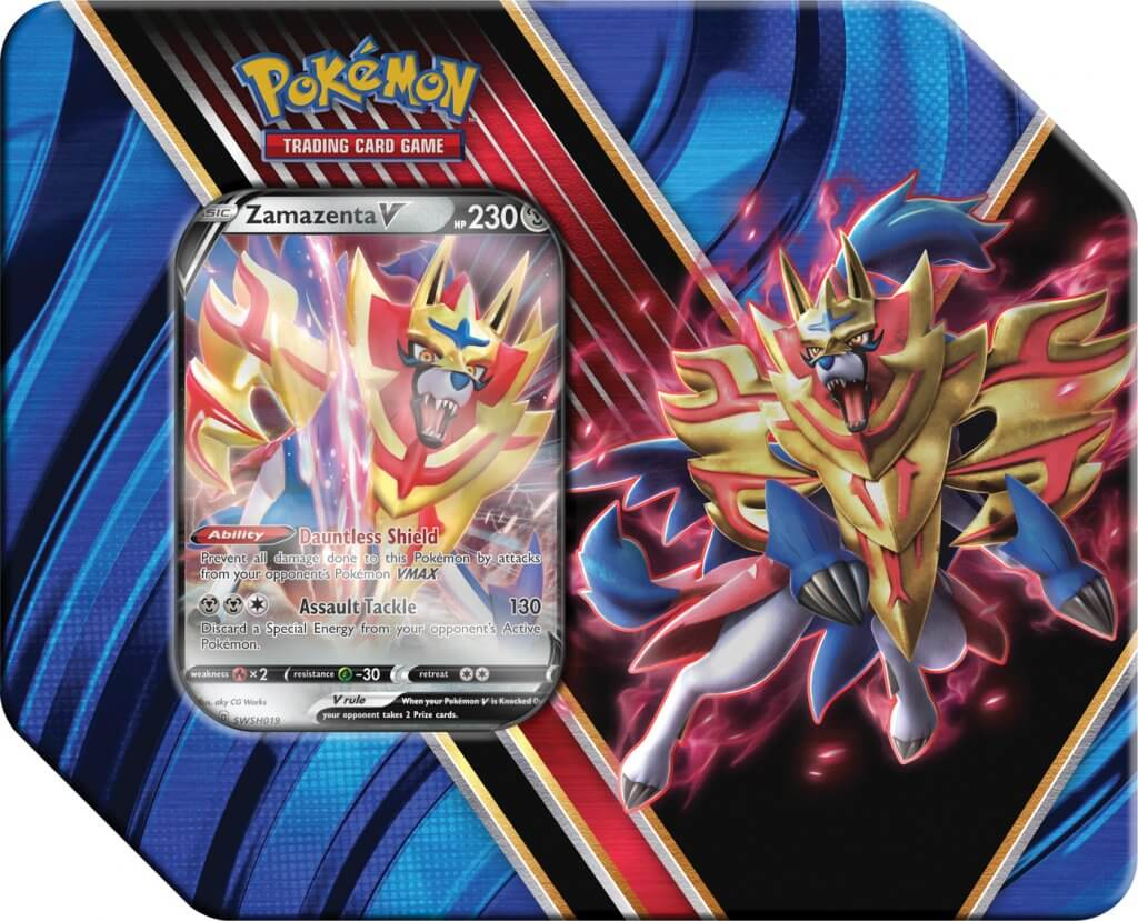 Storage Tin - Zamazenta V - Empty