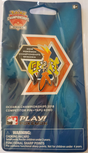 2018 Oceanic International Championships Pin Badge - New, Sealed