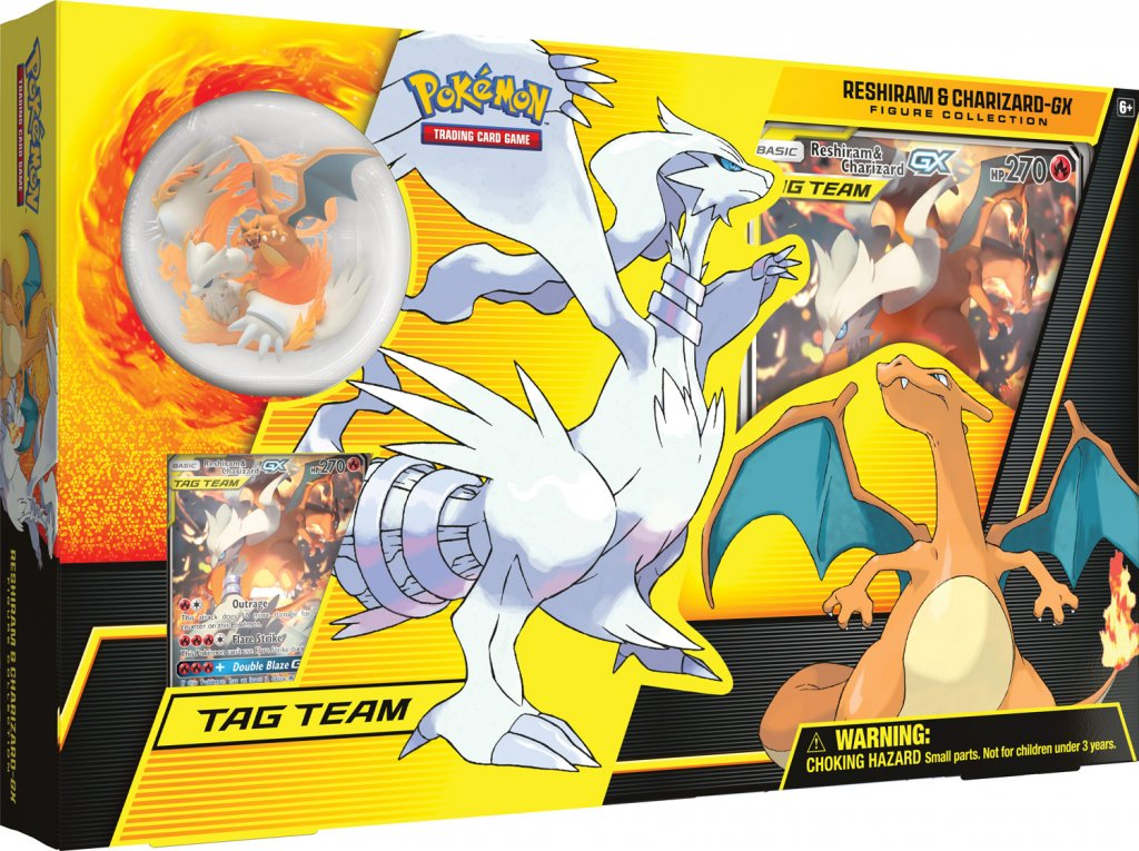 Reshiram & Charizard GX Figure Collection Box