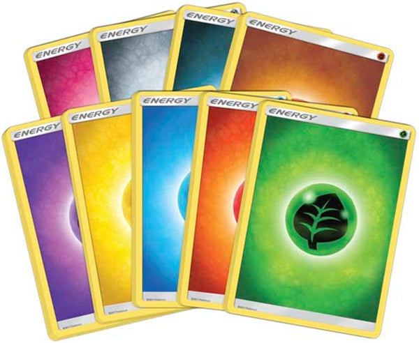 Sun & Moon Basic Energy Pack - 45 cards - Sealed, unopened