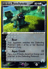 Team Aqua's Poochyena  - 55/95 - Common Reverse Holo