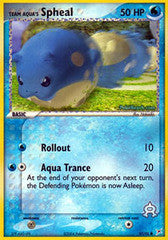 Team Aqua's Spheal  - 57/95 - Common Reverse Holo