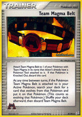 Team Magma Belt  - 81/95 - Uncommon