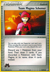 Team Magma Schemer  - 70/95 - Common