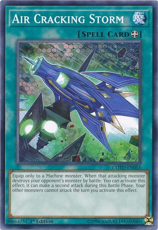 Air Cracking Storm - COTD-EN055 - Common 1st Edition