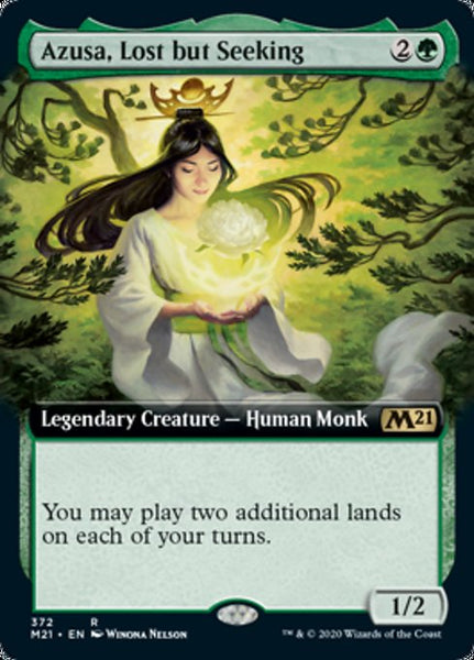 Azusa, Lost but Seeking - 372/274 - Rare Extended Art