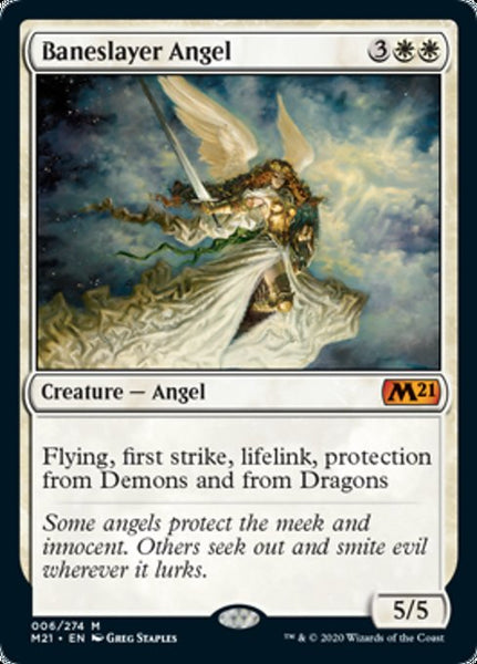 Baneslayer Angel - 6/274 - Mythic Foil