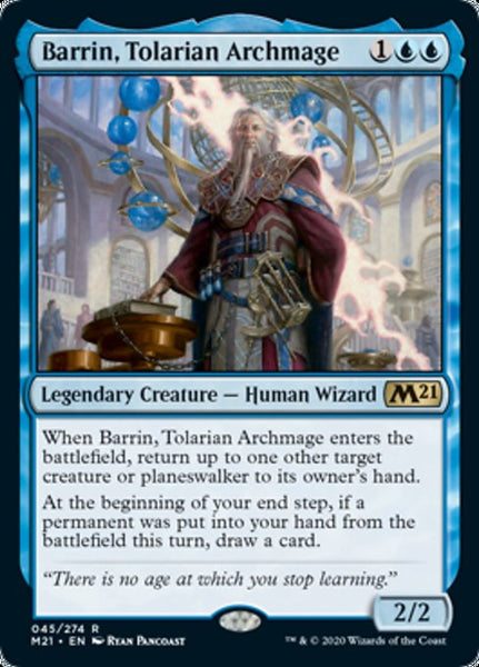 Barrin, Tolarian Archmage - 45/274 - Rare