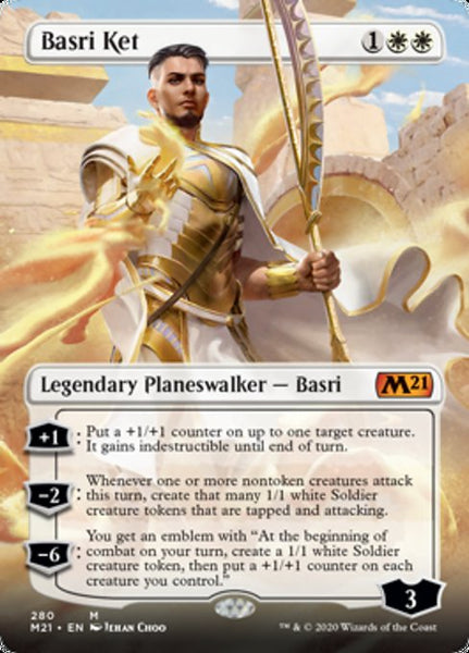 Basri Ket - 280/274 - Mythic Borderless