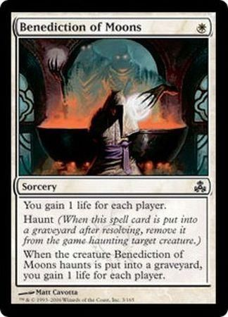 Benediction of Moons - 3/165 - Common