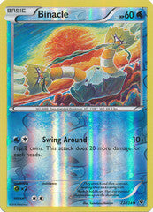 022/124 - Binacle - Common Reverse Holo