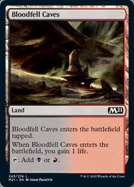 Bloodfell Caves - 243/274 - Land Foil