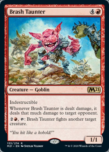 Brash Taunter - 133/274 - Rare