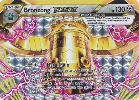 Bronzong Break - 62/124 - Ultra Rare