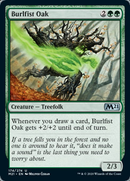 Burlfist Oak - 174/274 - Uncommon