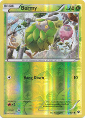 002/124 - Burmy - Common Reverse Holo
