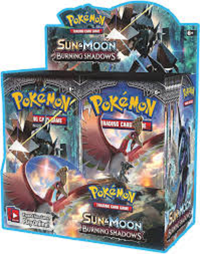 Burning Shadows Booster Box - Sealed - 36 Boosters