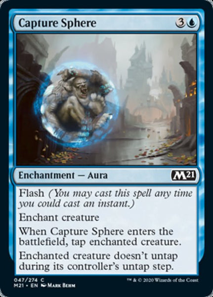 Capture Sphere - 47/174 - Common Foil
