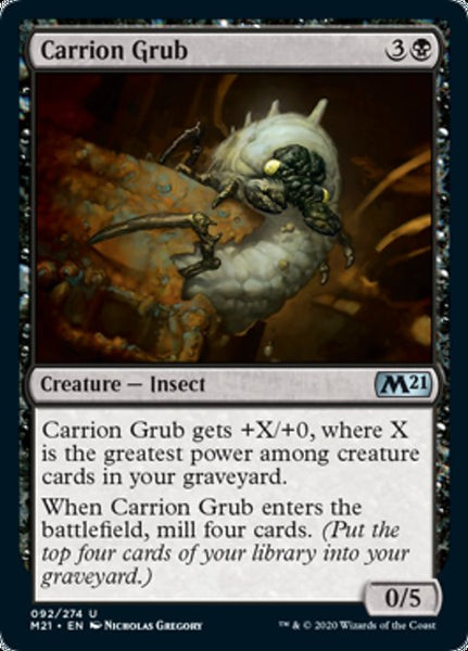 Carrion Grub - 92/174 - Uncommon