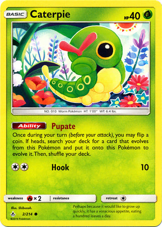 Caterpie - 2/214 - Common