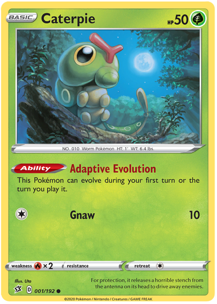 Caterpie - 1/192 - Common
