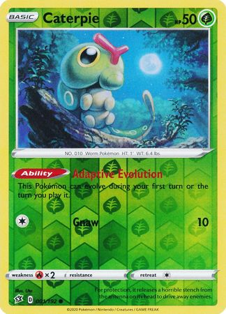 Caterpie - 1/192 - Common Reverse Holo