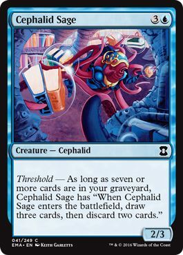 Cephalid Sage - 041/249 - Common