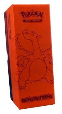 Generations Charizard Storage Box - empty