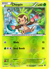 Chespin -8/162 - Common Reverse Holo