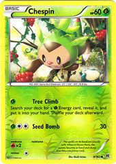 Chespin -9/162 - Common Reverse Holo