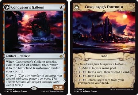 Conqueror's Galleon / Conqueror's Foothold 234/279 - Rare