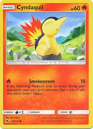 Cyndaquil - 39/214 - Common