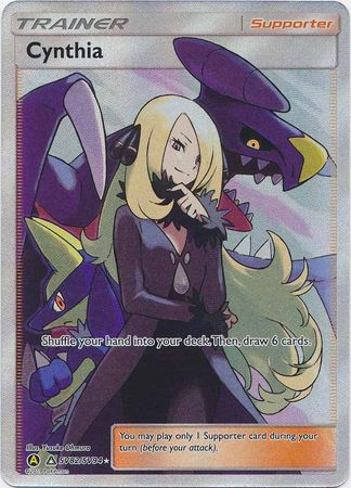 Cynthia Full Art - SV82/SV94 Shiny Rare