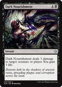 Dark Nourishment - 97/279 - Uncommon